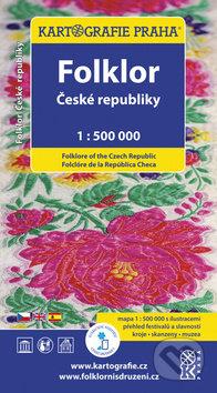 Folklor České republiky 1 : 500 000 - Kartografie Praha