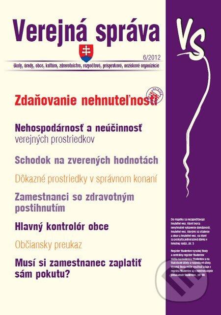 Fatimma.cz Verejná správa 6/2012 Image
