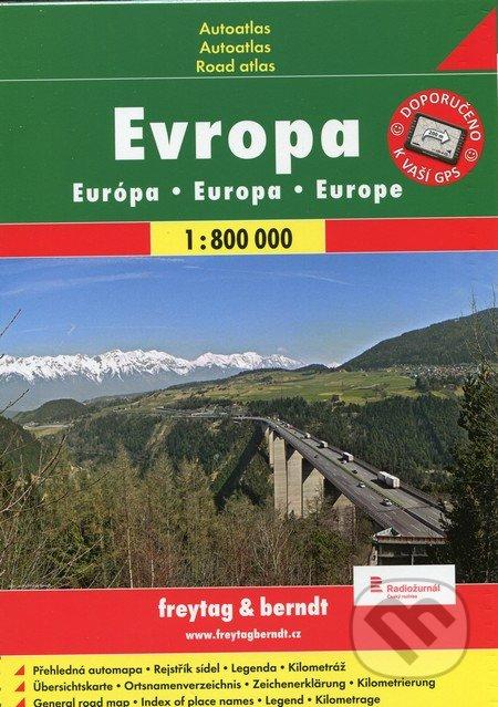 Evropa 1:800 000 - freytag&berndt