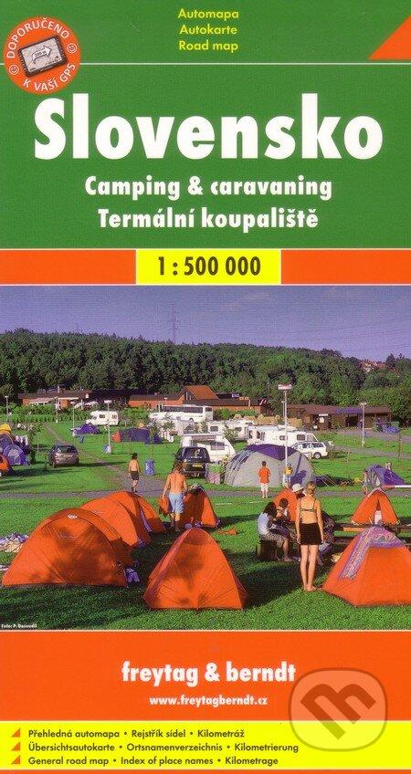Fatimma.cz Slovensko - Kemping, termálne kúpaliská 1:500 000 Image