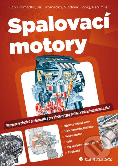 Spalovací motory - Jan Hromádko a kolektiv