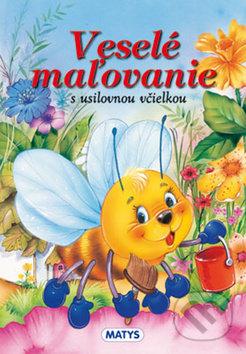 Veselé maľovanie s usilovnou včielkou -