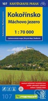Kokořínsko, Máchovo jezero 1:70 000 - Kartografie Praha