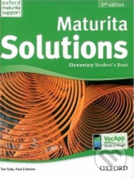 Interdrought2020.com Maturita Solutions - Elementary - Student´s Book Image