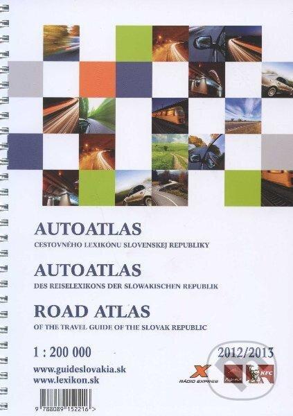 Fatimma.cz Autoatlas cestovného lexikonu Slovenskej republiky 2012/2013 Image