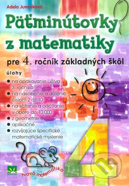 Interdrought2020.com Päťminútovky z matematiky pre 4. ročník základných škôl Image