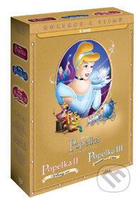 Popelka 1-3. kolekce DVD