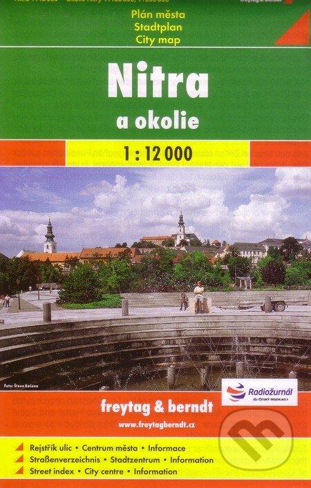 Fatimma.cz Nitra a okolie 1:12 000 Image