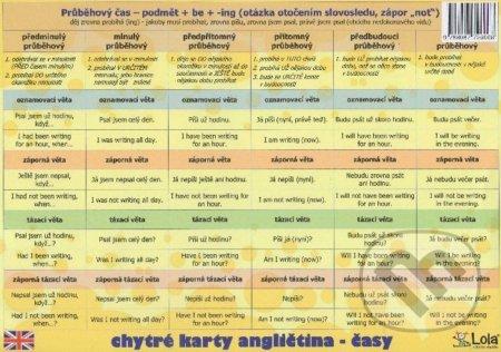 Chytré karty: Angličtina - Časy - Chytrá Lola