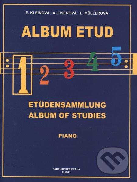 Album etud 1 - Eliška Kleinová, Alena Fišerová, Eva Müllerová