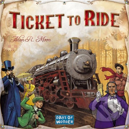 Ticket to Ride - Alan Moon