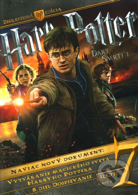 Harry Potter a Dary smrti časť 2. DVD