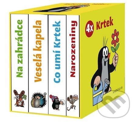 4x Krtek (komplet v krabičce) - Zdeněk Miler