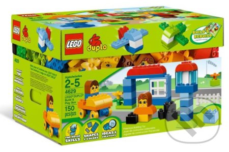 LEGO DUPLO 4629-Build & Play Box -