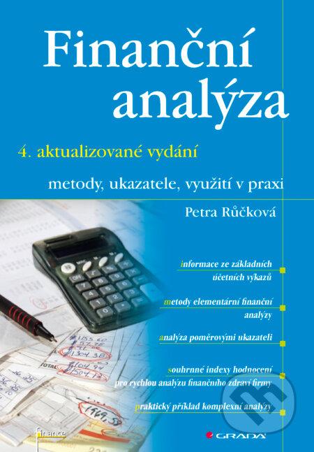 Finanční analýza - 4. rozšířené vydání - Petra Růčková