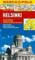 Helsinky - laminovaná mapa - Marco Polo