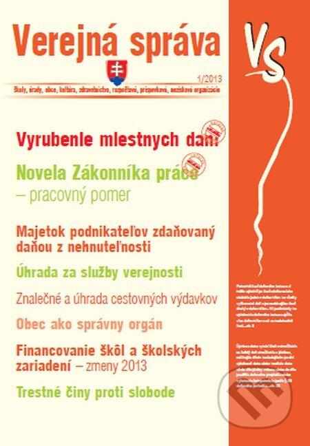 Fatimma.cz Verejná správa 1/2013 Image