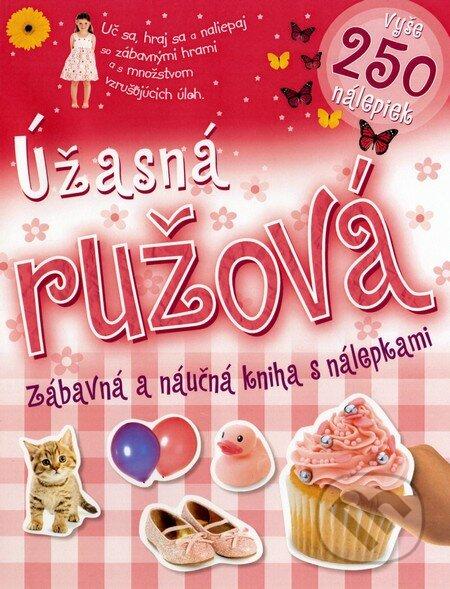 Fatimma.cz Úžasná ružová zábavná a náučná kniha s nálepkami Image