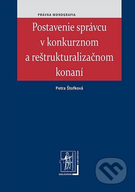 Peticenemocnicesusice.cz Postavenie správcu v konkurznom a reštrukturalizačnom konaní Image
