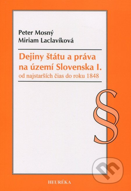 Venirsincontro.it Dejiny štátu a práva na území Slovenska I. Image