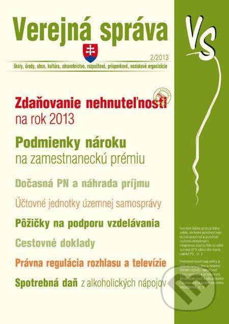 Peticenemocnicesusice.cz Verejná správa 2-3/2013 Image