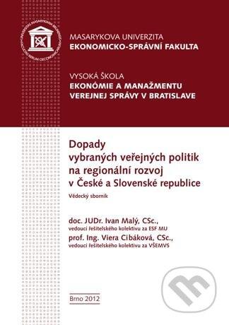 Fatimma.cz Dopady vybraných veřejných politik na regionální rozvoj v České a Slovenské republice Image