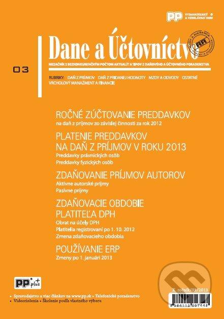 Fatimma.cz Dane a Účtovníctvo 3/2013 Image