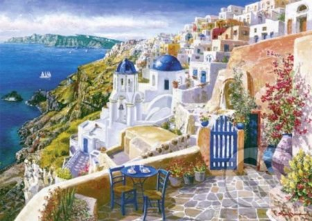 Sam Park, View from Santorin -