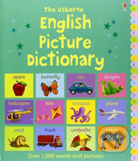 English Picture Dictionary - Felicity Brooks, Jo Litchfield (ilustrácie)