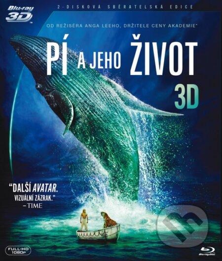 Pí a jeho život 3D Blu-ray