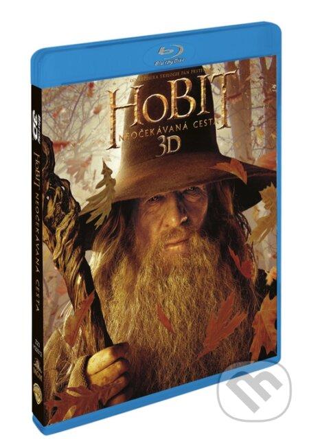 Hobit: Neočekávaná cesta (3D+2D+bonus disk) Blu-ray