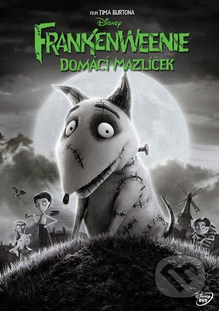 Frankenweenie: Domácí mazlíček DVD