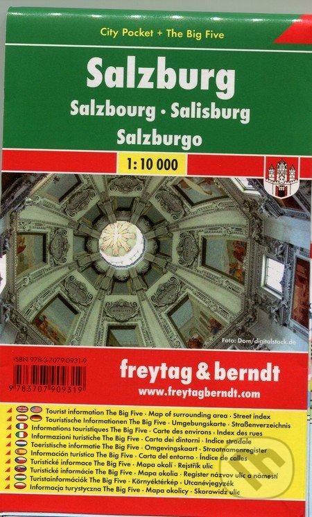 Kniha Salzburg 1 10 000 Freytag Berndt Martinus
