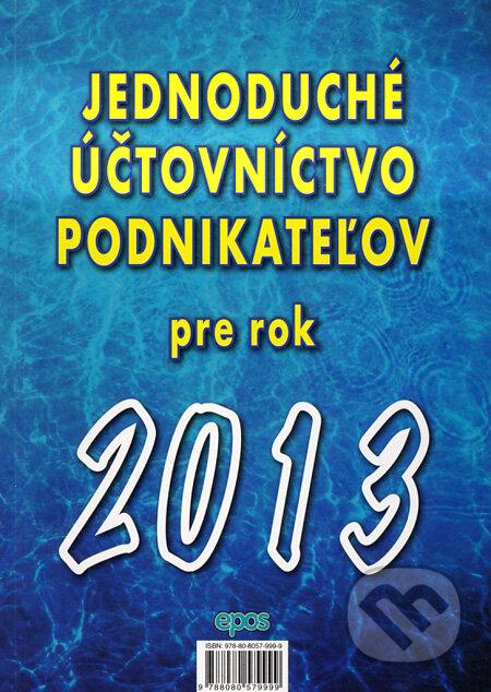 Fatimma.cz Jednoduché účtovníctvo podnikateľov pre rok 2013 Image