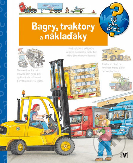 Bagry, traktory a náklaďáky - Albatros