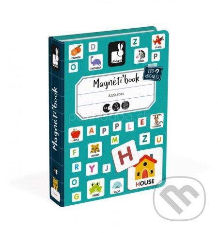 Magnetická kniha – Angličtina A.B.C. - Janod