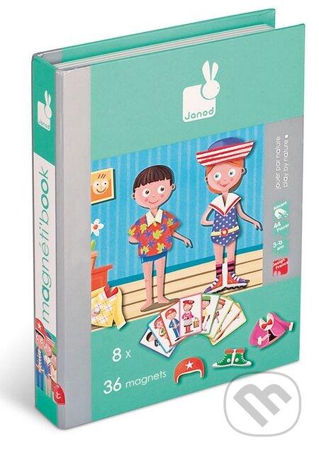 433ee331a13c Hry Spoločenské hry Hry pre deti Vzdelávacie hry · Magnetická kniha – Móda -