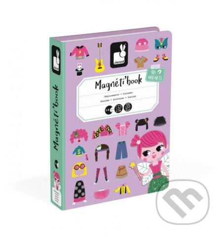 012504738b73 Spoločenské hry  Magnetická kniha – Oblečenie dievčatá (Janod ...