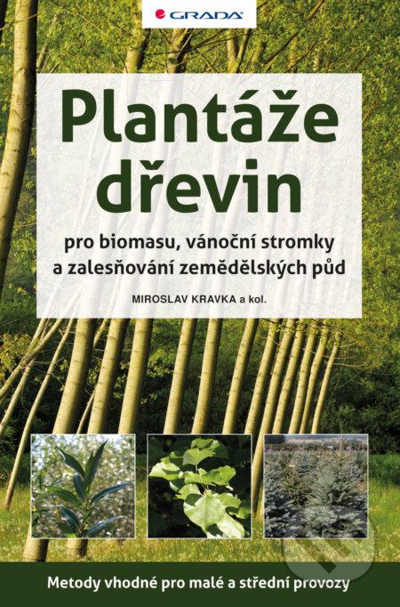 Plantáže dřevin pro biomasu, vánoční stromky a zalesňování zemědělských půd - Miroslav Kravka a kolektiv