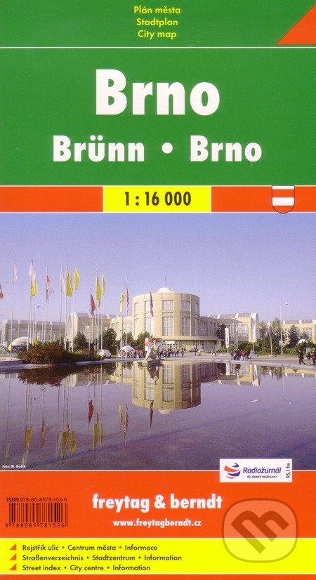 Brno 1:16 000 -