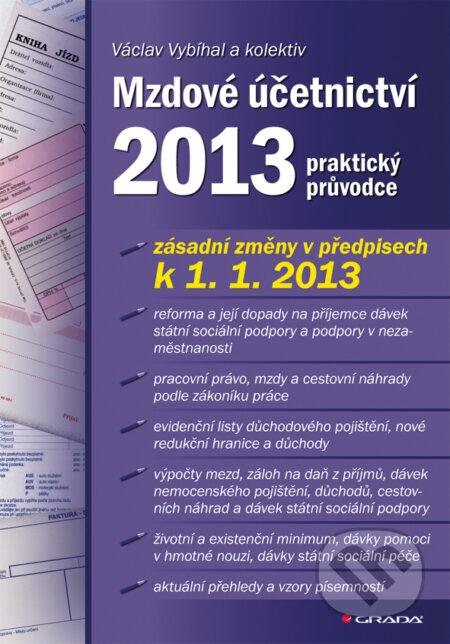Mzdové účetnictví 2013 - Václav Vybíhal a kolektiv