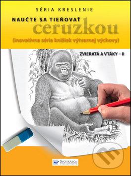 Fatimma.cz Naučte sa tieňovať ceruzkou: Zvieratá a vtáky II Image