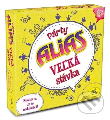 fe165264e Spoločenské hry: Párty Alias Veľká stávka (Albi) | Martinus