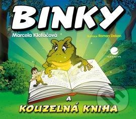 Binky a kouzelná kniha / Binky and the Book of Spells - Marcela Klofáčová