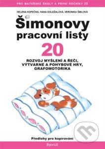 Šimonovy pracovní listy 20 - Helena Kopečná a kolektív