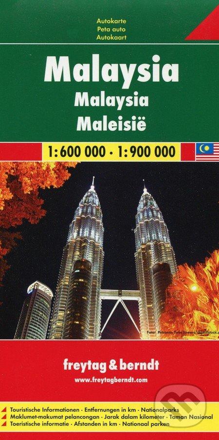 Malaysia 1:600 000 1:900 000 - freytag&berndt