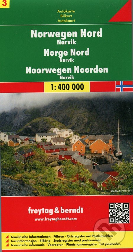 Norwegen Nord 1:400 000 -