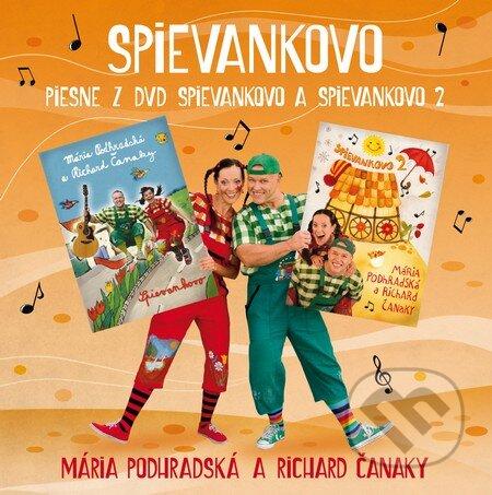 Hudobné CD  Spievankovo (1. CD) (Mária Podhradská a Richard Čanaky ... adc1e60f467
