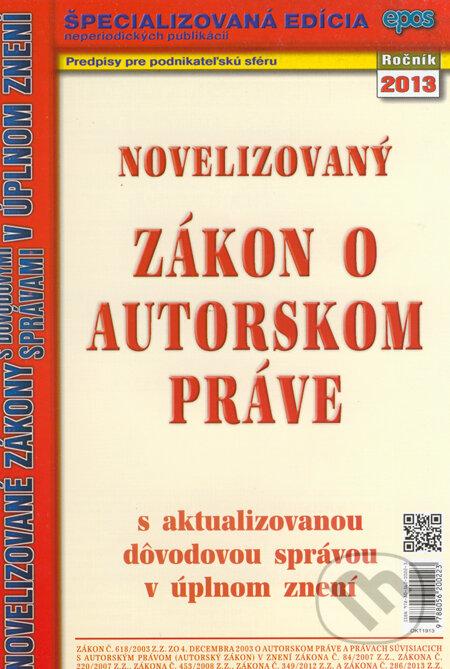 Fatimma.cz Novelizovaný zákon o autorskom práve Image