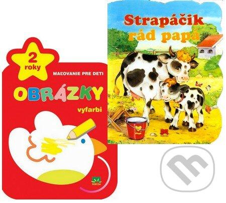 Interdrought2020.com Obrázky - Vyfarbi + Strapáčik rád papá (Kolekcia 2 titulov pre najmenších) Image
